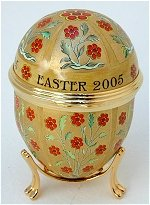 Large Easter Egg 2005